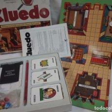 Juegos de mesa: ANTIGUO JUEGO DE MESA - EL CLUEDO - DE BORRAS - COMPLETO. Lote 63372632