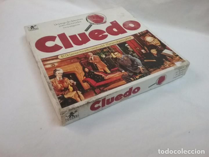 Juegos de mesa: ANTIGUO JUEGO DE MESA - EL CLUEDO - DE BORRAS - COMPLETO - Foto 4 - 63372632