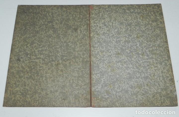 Juegos de mesa: Juego de la oca (probablemente catalán y de principios del siglo XX), Mide 36 x 26,5 cm. Tal y como - Foto 6 - 63615271