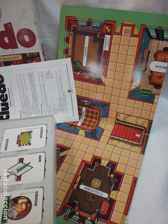 Juegos de mesa: ANTIGUO JUEGO DE MESA - EL CLUEDO - DE BORRAS - COMPLETO - Foto 3 - 63372632