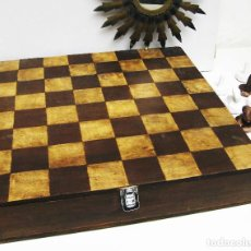 Juegos de mesa: ENORME TABLERO AJEDREZ DIGITAL ARTESAL Y UNICO. Lote 63680443