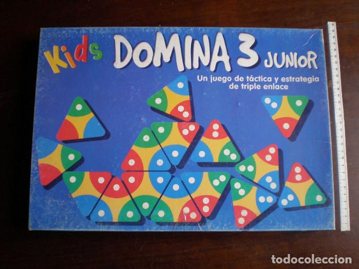 Falomir Juegos Kids Domina 3 Junior Completo Comprar Juegos De