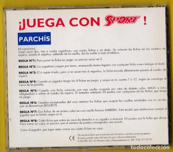 Sport Parchis Magnetico Publicidad Juega C Comprar Juegos De