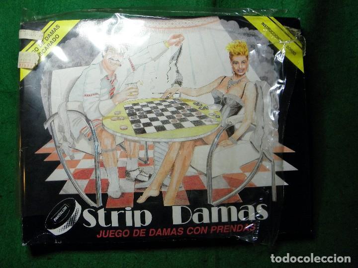 JUEGO EROTICO STRIP DAMAS JUEGO DE DAMAS CON PRENDAS (Juguetes - Juegos - Juegos de Mesa)