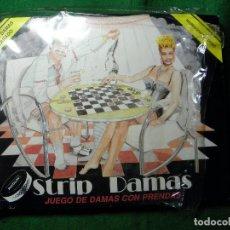Juegos de mesa: JUEGO EROTICO STRIP DAMAS JUEGO DE DAMAS CON PRENDAS. Lote 64179823