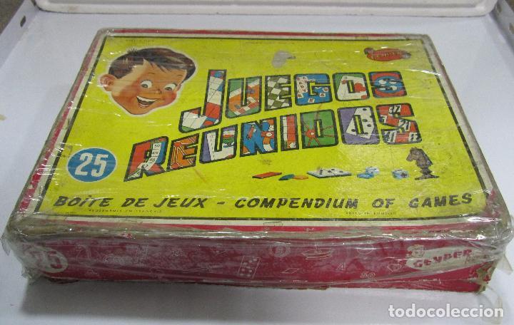 JUEGOS REUNIDOS. Nº25. GEYPER. EL DE LAS FOTOS. (Juguetes - Juegos - Juegos de Mesa)