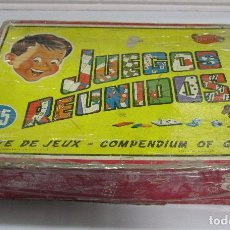 Juegos de mesa: JUEGOS REUNIDOS. Nº25. GEYPER. EL DE LAS FOTOS.. Lote 64211591