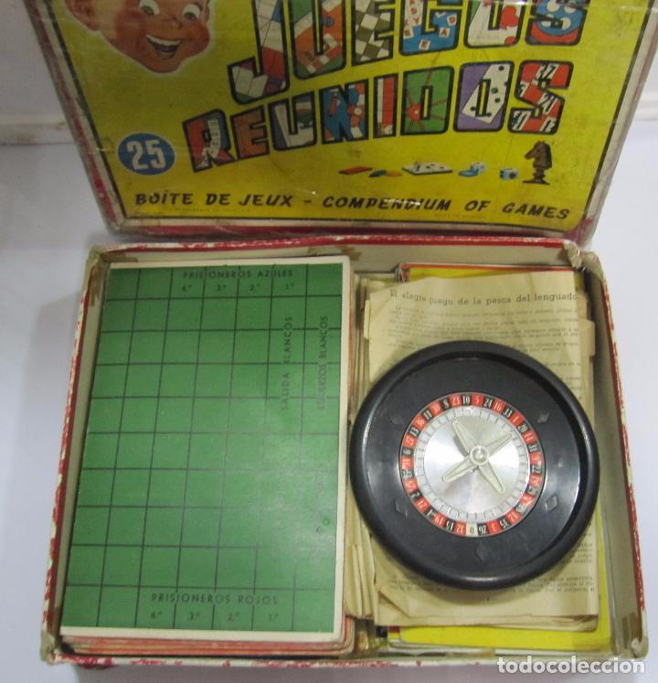 Juegos de mesa: JUEGOS REUNIDOS. Nº25. GEYPER. EL DE LAS FOTOS. - Foto 3 - 64211591