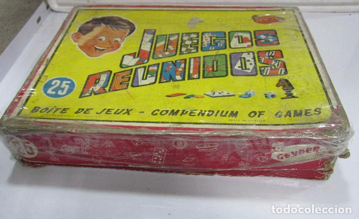 Juegos de mesa: JUEGOS REUNIDOS. Nº25. GEYPER. EL DE LAS FOTOS. - Foto 7 - 64211591