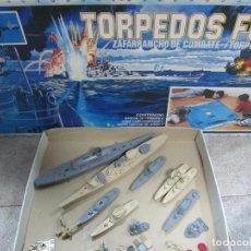 Juegos de mesa: TORPEDOS FUERA. ZAFARRANCHO DE COMBATE. FALOMIR. JUEGOS CINCO ESTRELLA. REF. 13.000. Lote 64426279