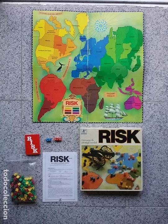 JUEGO DE MESA RISK BORRÁS ¿AÑOS 80?, COMPLETO Y POR ESTRENAR (Juguetes - Juegos - Juegos de Mesa)