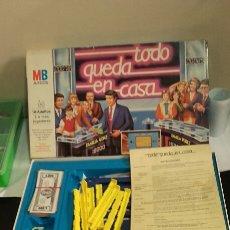 Juegos de mesa: JUEGO DE MESA TODO QUEDA EN CASA MB. Lote 65298515