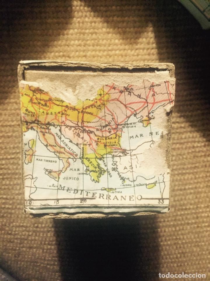 antiguo rompecabezas con los mapas de los conti  Comprar Juegos