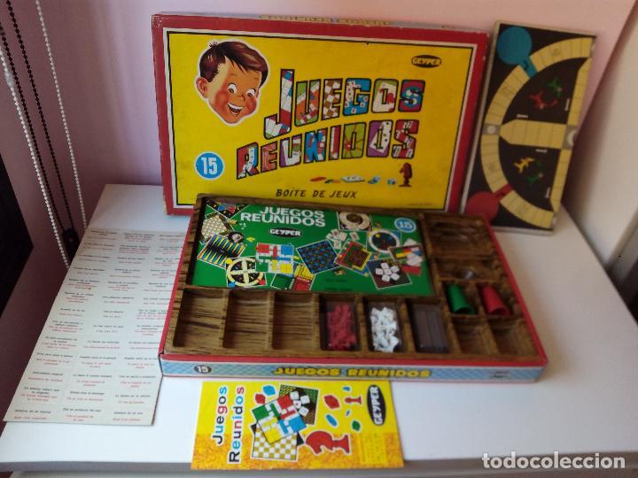Juegos Reunidos Geyper De 15 Comprar Juegos De Mesa Antiguos En