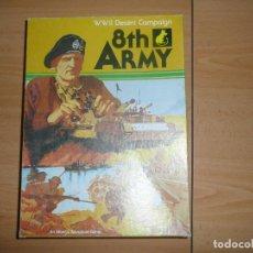 Juegos de mesa: 8TH ARMY ,DESERT CAMPAING, INGLES. Lote 65966582