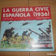 Juegos de mesa: LA GUERRA CIVIL ESPAÑOLA , NAC. Lote 65967014