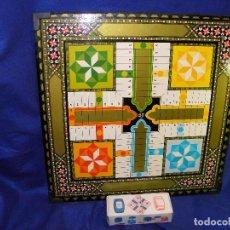 Juegos de mesa: PARCHIS Y OCA DE MADERA NUEVO. Lote 209900220