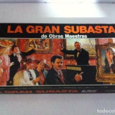 Juegos de mesa: ANTIGUO JUEGO LA GRAN SUBASTA DE OBRAS MAESTRAS, DE BORRAS. AÑOS 70. COMPLETO. Lote 66039514