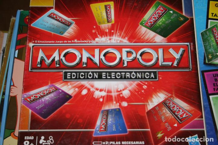 Juego Monopoly Electronico Comprar Juegos De Mesa Antiguos En