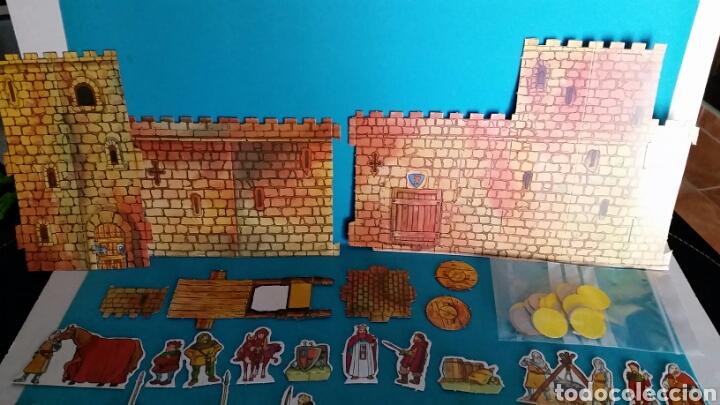 Juegos de mesa: TROQUELADO RUY PEQUEÑO CID DE DANONE EL CASTILLO - Foto 4 - 66337287