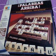 Juegos de mesa: JUEGO MB PALABRAS ARRIBA. Lote 66790202
