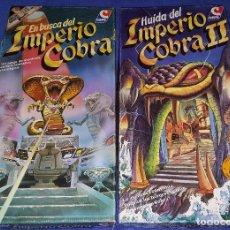 Juegos de mesa: EN BUSCA DEL IMPERIO COBRA - HUIDA DEL IMPERIO COBRA - CEFA ¡COMPLETOS E IMPECABLES!. Lote 176233790