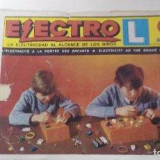 Juegos de mesa: JUEGO DE AIRGAM ELECTRO L MANUAL DE INSTRUCCIONES Nº 1. Lote 67240729