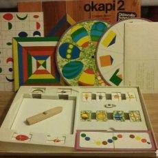 Juegos de mesa: OKAPI 2. DIDASCALIA. 7 JUEGOS DIDACTICOS PARA NIÑOS PREESCOLAR. Lote 67546202
