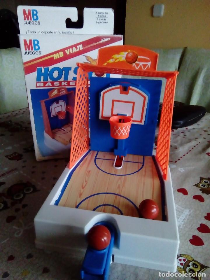 Mb Juegos Viaje Hot Shot Basketball Ano 1993 Comprar Juegos De