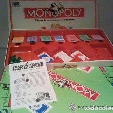 Juegos de mesa: MONOPOLY VERSION CALLES DE BARCELONA COMPLETO. Lote 67674833