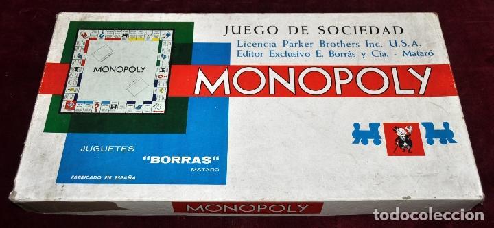 Monopoly Ano 1962 Parker Editor Borras Mataro Comprar Juegos De