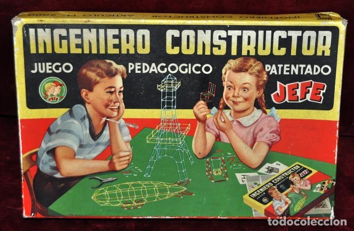 JUEGO DE MESA INGENIERO CONSTRUCTOR JEFE ,PATENTADO (Juguetes - Juegos - Juegos de Mesa)