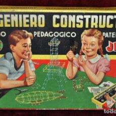Juegos de mesa: JUEGO DE MESA INGENIERO CONSTRUCTOR JEFE ,PATENTADO. Lote 68031953