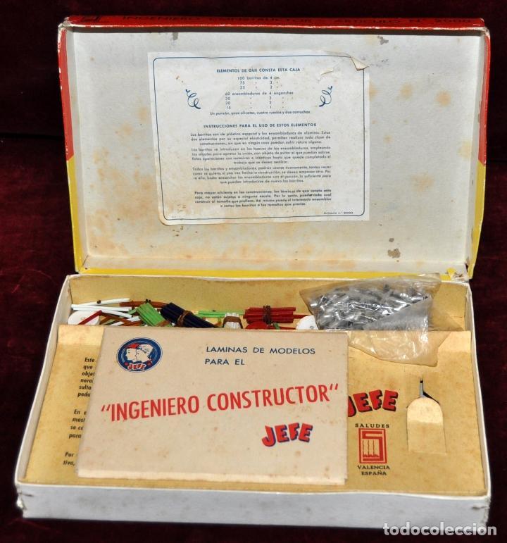 Juegos de mesa: JUEGO DE MESA INGENIERO CONSTRUCTOR JEFE ,PATENTADO - Foto 2 - 68031953
