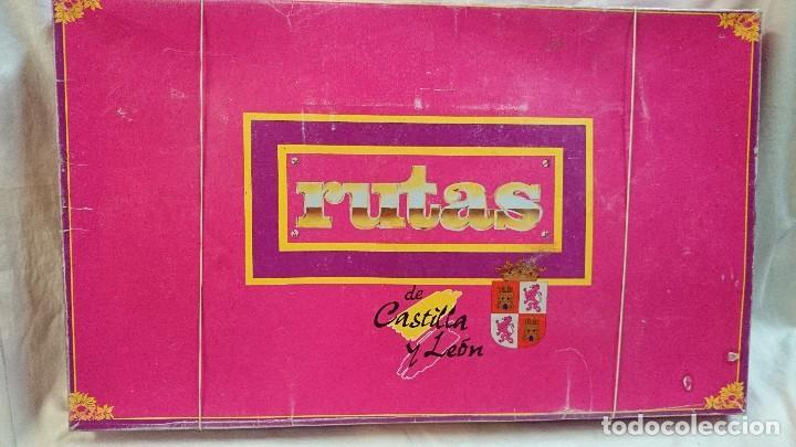 JUEGO DE MESA RUTAS DE CASTILLA Y LEÓN, AÑOS 80 (Juguetes - Juegos - Juegos de Mesa)