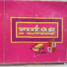 Juegos de mesa: JUEGO DE MESA RUTAS DE CASTILLA Y LEÓN, AÑOS 80. Lote 68072601