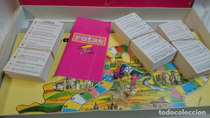 Juegos de mesa: JUEGO DE MESA RUTAS DE CASTILLA Y LEÓN, AÑOS 80 - Foto 2 - 68072601