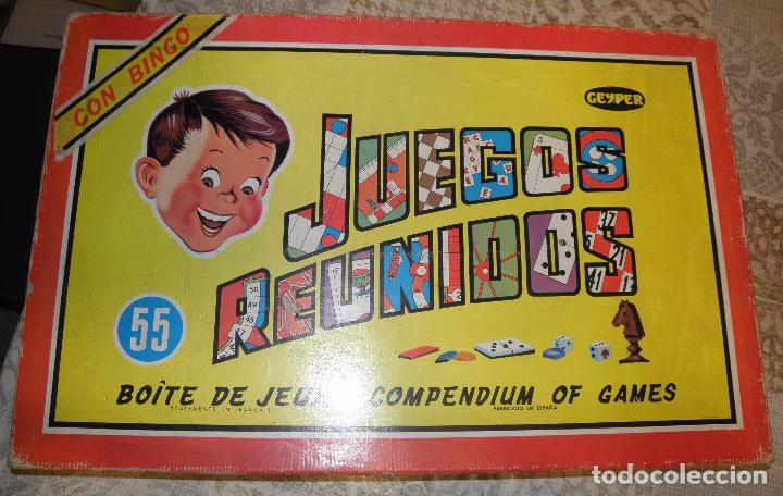 Juegos Reunidos Geyper Nº 55 Anos 60 70 Comprar Juegos De Mesa