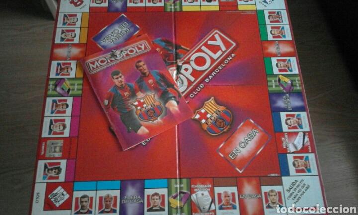 Monopoly Edicion Futbol Club Barcelona De Parke Comprar Juegos De