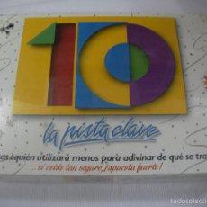 Juegos de mesa: ANTIGUO JUEGO - LA PISTA CLAVE - NUEVO PRECINTADO. Lote 68394361