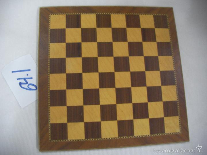 TABLERO AJEDREZ (Juguetes - Juegos - Juegos de Mesa)