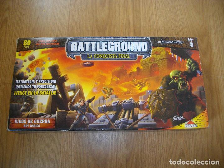 Juego De Mesa Battleground La Conquista Finalti Comprar Juegos De