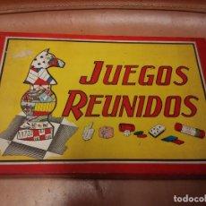 Juegos de mesa: JUEGOS REUNIDOS BORRÁS. Lote 68675393