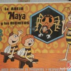 Juegos de mesa: JUEGO DE PREGUNTAS Y RESPUESTAS LA ABEJA MAYA Y LOS BICHITOS , AÑO 1978 . NUEVO SIN USO. Lote 68769841