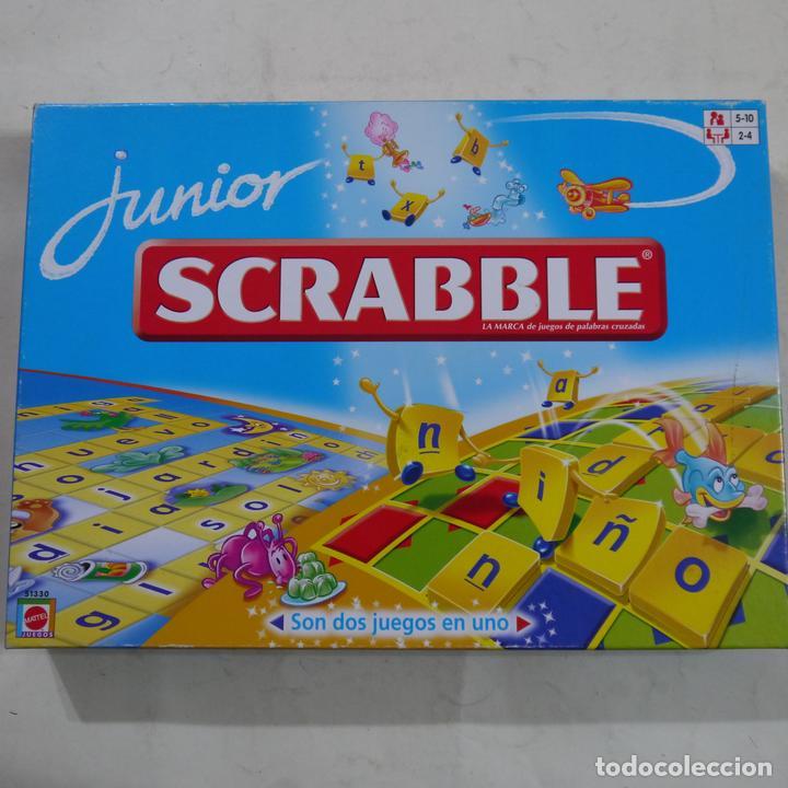 Scrabble Junior Mattel 2006 Comprar Juegos De Mesa Antiguos En