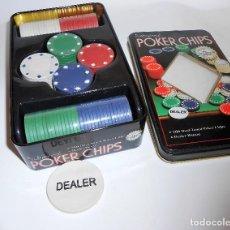 Juegos de mesa: FICHAS DE POKER NUEVO A ESTRENAR. Lote 68790225