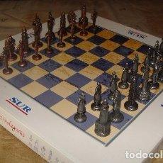 Giochi da tavolo: FIGURAS AJEDREZ MALAGUEÑO - PERIODICO SUR.. Lote 68813517