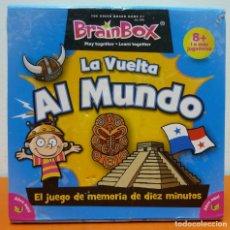 Juegos de mesa: LA VUELTA AL MUNDO- BRAINBOX- JUEGO DE MESA. Lote 68815181