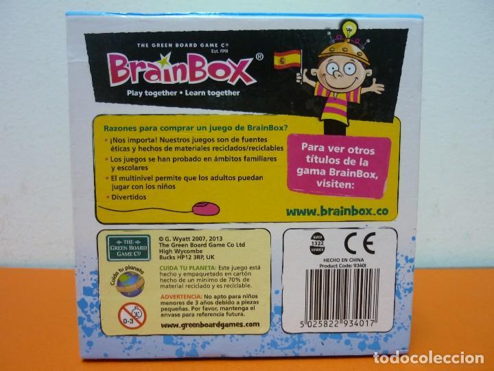 La Vuelta Al Mundo Brainbox Juego De Mesa
