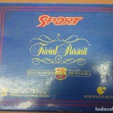 Juegos de mesa: TRIVIAL FUTBOL CLUB BARCELONA. Lote 69066017